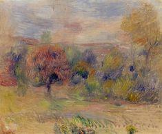 Landscape. Pierre-Auguste Renoir.