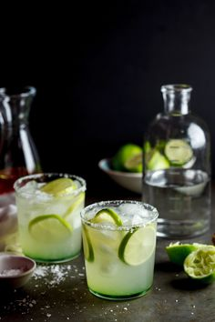 Chile Infused Margaritas (TEQUILA)