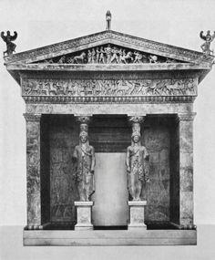 Siphnian Treasury at Delphi (facade), c.525 B.C.
