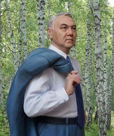 Назарбаев Нурсултан Абишевич. Президент Казахстана, 2014.  М1:6 (300 мм).