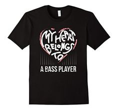 Men's Bass Player Girlfriend Wife My Heart Belongs To A Bassist Small Black Shoppzee Bass Player Tee http://www.amazon.com/dp/B01CRJ10CI/ref=cm_sw_r_pi_dp_2oC8wb180X5DF