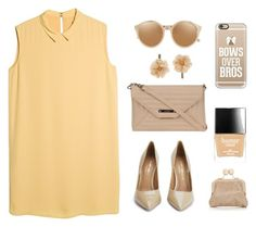 """""""Fashionista For Days."""" by griselia-miranda on Polyvore featuring MANGO, Kurt Geiger, Oasis, Wilsons Leather, Butter London, Casetify, Linda Farrow and Accessorize"""