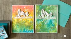 This has to be my favorite Jennifer McGuire video. She does an amazing batch of cards, making the backgrounds from Tim Holtz', NEW Distress Oxide Inks. Jennifer and Tim never cease to amaze me! Thanks again for a great tutorial.