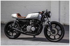 Kawasaki GT550 - AutoFabrica - Pipeburn - Purveyors of Classic Motorcycles, Cafe Racers & Custom motorbikes