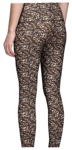 """Lululemon Sequins Leggings. These Lululemon Sequins Leggings were voted """"Most Flattering Fit"""" by Tradesy members! Get a pair before they're gone at Tradesy, where savings rule."""