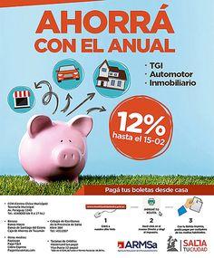 Pago anual: desde hoy los vecinos pueden abonar sus impuestos con 12% de descuento: Esta modalidad de pago se extenderá hasta el 15 de…