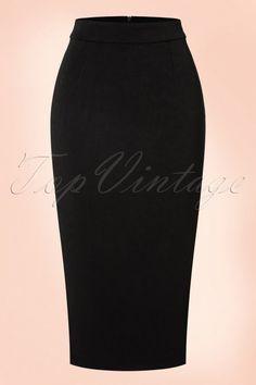 Traffic People Black Pencil Skirt 120 10 18615 08102016 003a