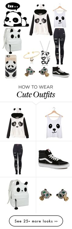 """Panda outfit"" by darkangel711 on Polyvore"