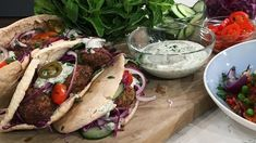 The Hairy Bikers' lamb and lentil meatballs