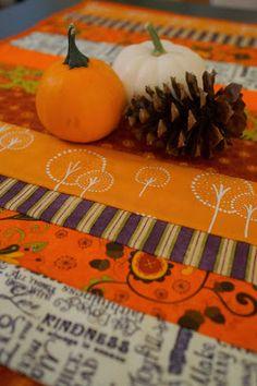 Reversible Fall Table Runner Quilt