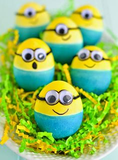 DIY and Crafts: How to make Minion Easter Eggs