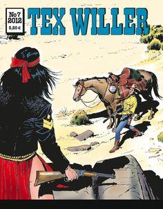 Tex Willer -lehti no 7/2012. #sarjakuva #sarjis #sarjakuvalehti #egmont