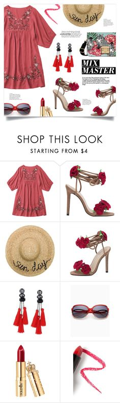 """Sunny Days"" by mahafromkailash ❤ liked on Polyvore featuring Eugenia Kim and Lapcos"