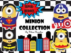 Minion Superheroes are here!!!Transform your classroom into a fun and stimulating learning place your students will absolutely fall in love with! Edit and customize to your liking. 172 pages in total. *****************************************************************************Here is whats included:-Welcome To Our Class Sign *Editable-Door Dcor Minions Cut Outs with name tags (2 styles) *Editable-Calling All SuperMINIONS Sign-Welcome Superheroes Sign-Teacher_______ (for male and female…