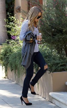 Lauren Conrad * a little tear in the jeans - super cool