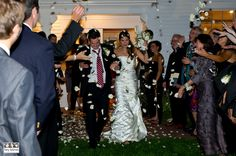 Captain Linnell House wedding exit