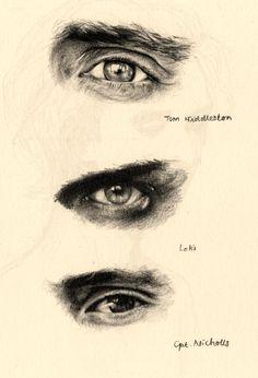 На днях мой друг, и я наблюдал за Тором, и она заметила, что Локи является уникальным из других злодеев Marvel, потому что в то время как вы можете видеть в их глазах, что они просто сочиться чистый злобности, глаза Локи был этот постоянно озорной взгляд в них нет ...