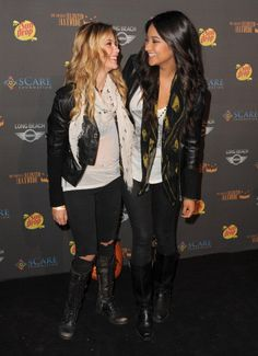 Ashley Benson and Shay Mitchell~Pretty Little Liars