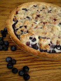 Cinnamon Freud: Sour Cream Blueberry Pie