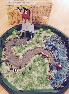 Gingerbread Man Small world area #piecorbett #t4w