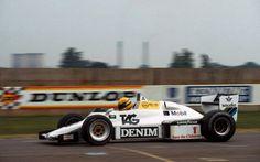 1983 Williams FW08C - Ford (Ayrton Senna test)