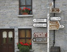 Adorable street signs in Ireland.