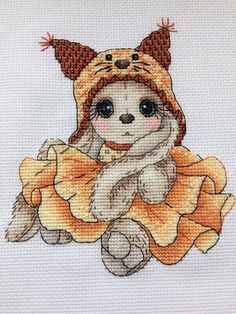 Thrilling Designing Your Own Cross Stitch Embroidery Patterns Ideas. Exhilarating Designing Your Own Cross Stitch Embroidery Patterns Ideas. Cute Cross Stitch, Cross Stitch Animals, Counted Cross Stitch Patterns, Cross Stitch Designs, Learn Embroidery, Crewel Embroidery, Cross Stitch Embroidery, Embroidery Patterns, Simple Embroidery