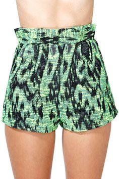 Nasty Gal Hyper Threat Tweed Shorts
