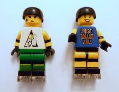 Custom Roller Derby Lego Minifigure  made just for by SavageMakes, $18.00