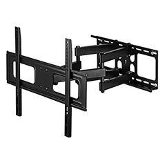 http://ift.tt/1YppvLP Flashstar TV-Wandhalterung universell passend für alle Bildschirme bis 191 cm (32-75 Zoll) neigbar schwenkbar (vollbeweglich) VESA bis 600400 für max 50kg schwarz ##s