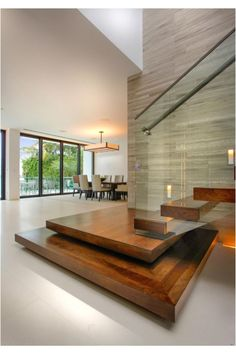 Modern interior staircase – how to choose the right handrails … Home Stairs Design, Interior Staircase, Modern House Design, Home Interior Design, Interior Architecture, Staircase Design Modern, Interior Modern, Stair Design, Modern Interiors