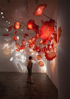 Glass Art- Dale Chihuly, Musetouch. Studied Dale Chihuly in my art class and was able to see some of his art on display at an art museum. Truly fascinating!