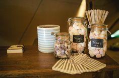 Rustic Tipi Wedding Marshmallows Toasting http://www.kat-hill.com/