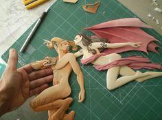 Carlos Meira Ilustrador: Lilith e o fauno