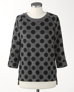 Dotted pullover - [K20599] at ColdwaterCreek.com