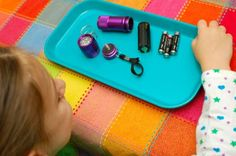 Taking apart and reassembling a flashlight-great boredom buster, easy reassembly....oh gosh, this has #1 written all over it!!!