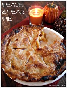 Jam Hands: Peach & Pear Pie