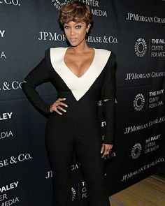 @TyraBanks attends The Paley Center for Media's Hollywood Tribute to African-American Achievements in Television, presented by JPMorgan Chase & Co., on Monday, October 26 at the Beverly Wilshire Hotel in Beverly Hills, California (Photo credit: The Paley Center for Media)