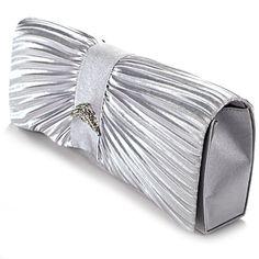 New Pleated Satin Crystal Evening Prom Clutch Bag Wedding Bridal Purse (Silver Grey) Anladia,http://www.amazon.com/dp/B00FR8BW1G/ref=cm_sw_r_pi_dp_kIP7sb0MHGAG46QZ