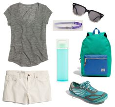 Blog Post: Wearable - Summer Edition, Take a Hike @Madewell @Warby Parker @lululemon athletica @Merrell Outside #herschel