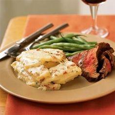 Asiago, Potato, and Bacon Gratin | MyRecipes.com