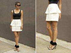 DYI Peplum Skirt