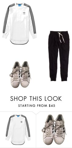"""""""Untitled #295"""" by doda-laban on Polyvore featuring adidas and Madewell"""