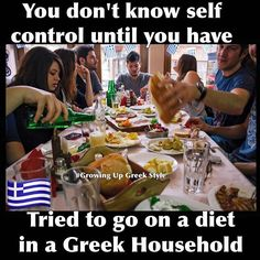 Maybe you don't think you're a particularly funny person but trust me if you see these Life Humor memes, you feel yourself funny.Read This 26 Life Humor memes Greek Memes, Funny Greek Quotes, Life Humor, Mom Humor, Greek Tv Show, Greek Language, Greek Culture, Worth Quotes, Greek Life