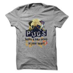 Pug Paw Print