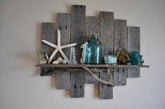 Tablette en bois étagère en bois rustique étagère en bois de