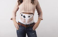 DeneAdams corset gun holster comes even in plus size!