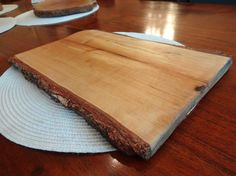 This is made from single piece of wood cutting board Tree was cut be me and its birch-tree.  Color is your choice it can be oak, palisander , teak or plain no color just oiled  Size Diameter 33 cm / 23 cm  Feel free to order any type of custom ćheese boards and cutting boards