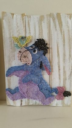 Eeyore String Art by All Strung Up