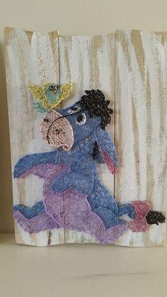 Eeyore String Art by All Strung Up